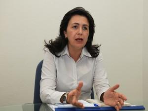 Controladora-geral Rosa Tenório fala sobre determinação. (Foto: Divulgação/Ascom)