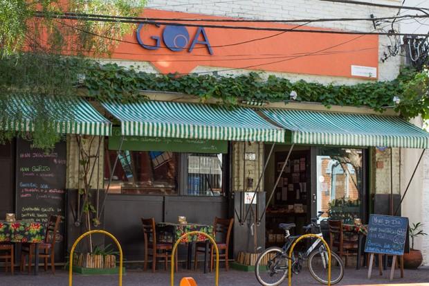 Um restaurante vegetariano para almoçar ao lado dos pets (Foto: Rafael Wainberg)