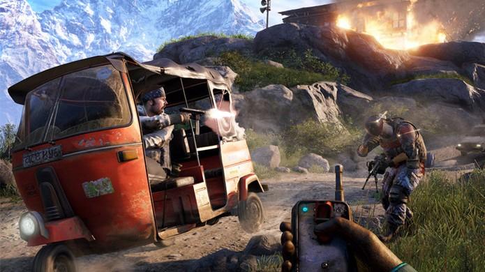 Segundo o diretor criativo de Far Cry 4, Kyrat não será o único cenário do jogo (Foto: Red Bull)
