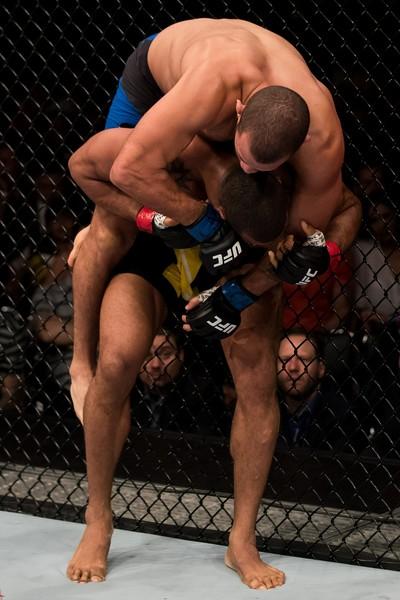 Eric Spicely, Thiago Marreta, UFC Brasília, MMA (Foto: Getty Images)