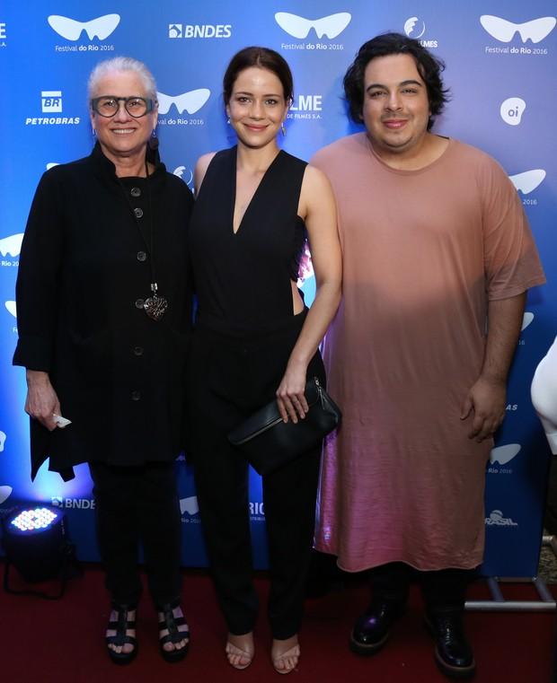 Vera Holtz, Leandra Leal e Luis Lobianco (Foto: Roberto Filho / Brazil News)