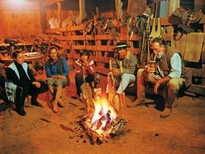 Churrasco, fogo de chão e chimarrão são tradições cultivadas em Lages, na Serra (Foto: Werner Zotz/Santur)
