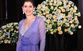Gabriela Carneiro da Cunha é madrinha pela primeira vez