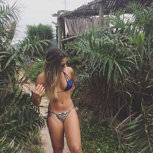 Danielle Favatto exibe corpão nas redes sociais (Foto: Reprodução/Instagram)