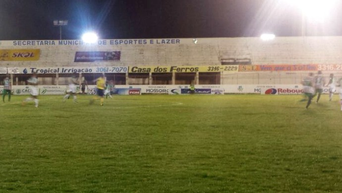 Baraúnas x Palmeira-RN Estádio Nogueirão (Foto: Yhan Victor/Divulgação)