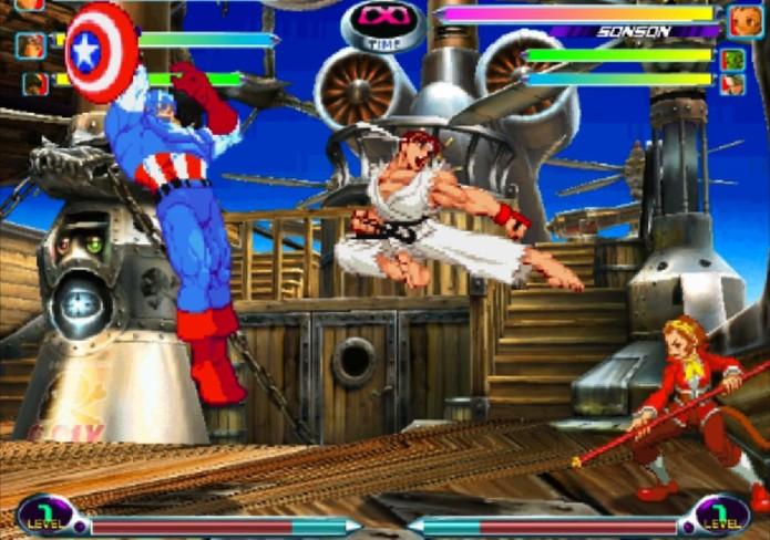 Marvel vs. Capcom 2 (Foto: Divulgação/Capcom)