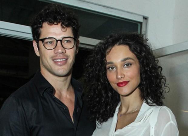 José Loreto e Débora Nascimento (Foto: Marcello Sá Barretto/AgNews)
