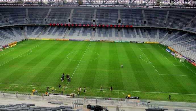 Arena da Baixada para Atlético-PR x Criciúma (Foto: Fernando Freire)