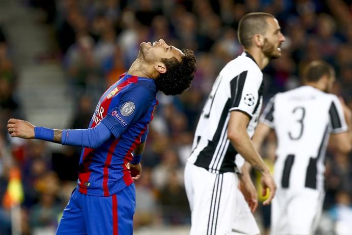 Neymar Barcelona Juventus Liga dos Campeões (Foto: Quique García/EFE)