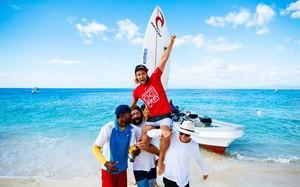 Matt Wilkinson campeão da etapa de Fiji