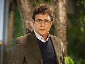 Marcos Frota é Menelau, o diretor do Colégio Leal Brazil, na nova temporada de Malhação (Foto: Pedro Curi / Globo)