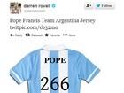 Escolha do Papa vira 'meme' na internet (Reprodução)