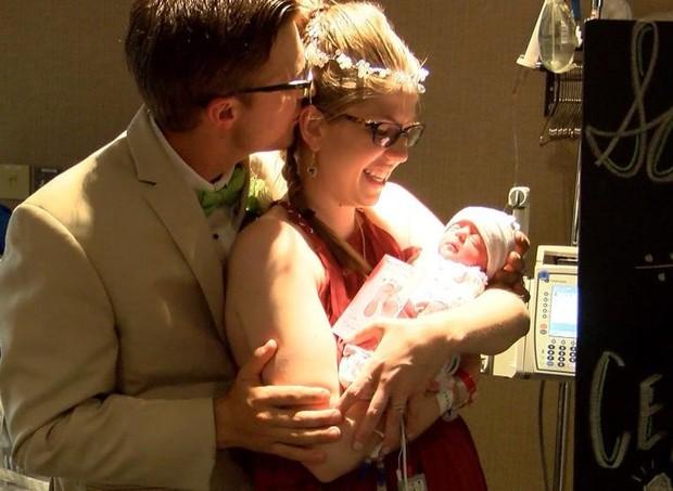 casamento no hospital (Foto:  )