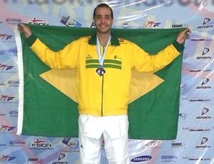 Lutador de taekwondo Lucas Ferreira de Uberlândia  (Foto: Lucas Ferreira / Arquivo Pessoal)