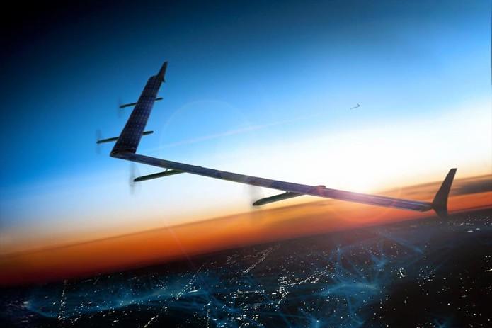 Drones do Facebook terão envergadura maior que a de um Boing 737 (Foto: Reprodução/Facebook)