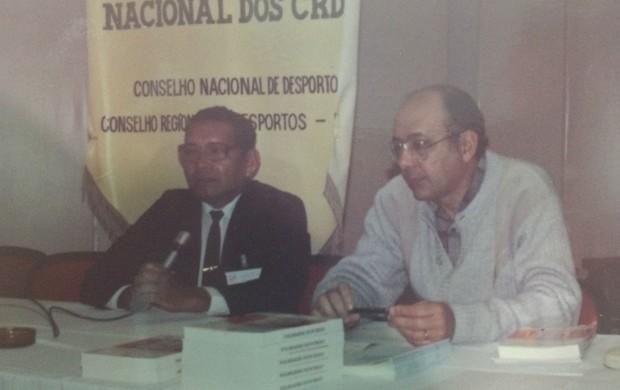Quem foi Milton de Souza Corrêa, que dá nome ao estádio 'Zerão', no Amapá (Foto: Arquivo/Álbum de Família)