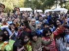 Fãs mexicanos tentam bater recorde de pessoas fantasiadas como Beatles