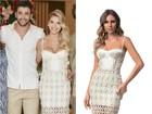 Vestido de casamento de Andressa Suita custa R$ 1,4 mil e está esgotado