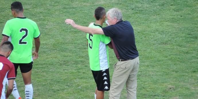 Roque Nanci Grosso, técnico do Presidente Prudente, PPFC (Foto: Murilo Rincon / GloboEsporte.com)