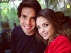 Carol Celico, mulher de Kaká, homenageia a família em rede social