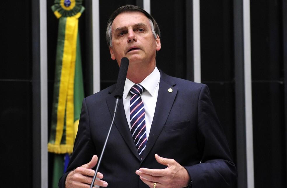 O deputado Jair Bolsonaro (PSC-RJ) (Foto: Luis Macedo/Câmara dos Deputados)