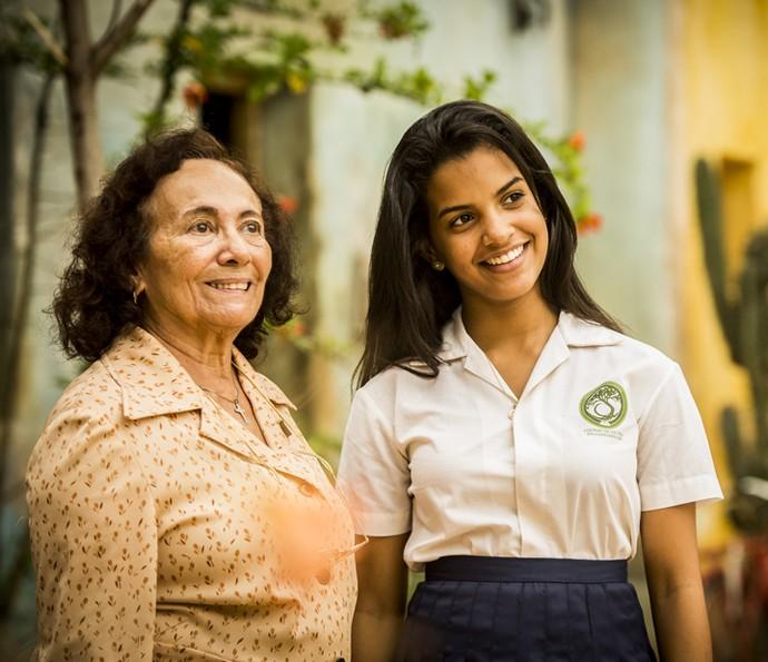 Piedade e Isabel também vão sentir a dor do sumiço de Santo (Foto: Caiuá Franco/ Globo)