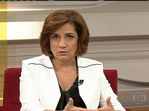 Miriam Leitão (Foto: Bom Dia Brasil)