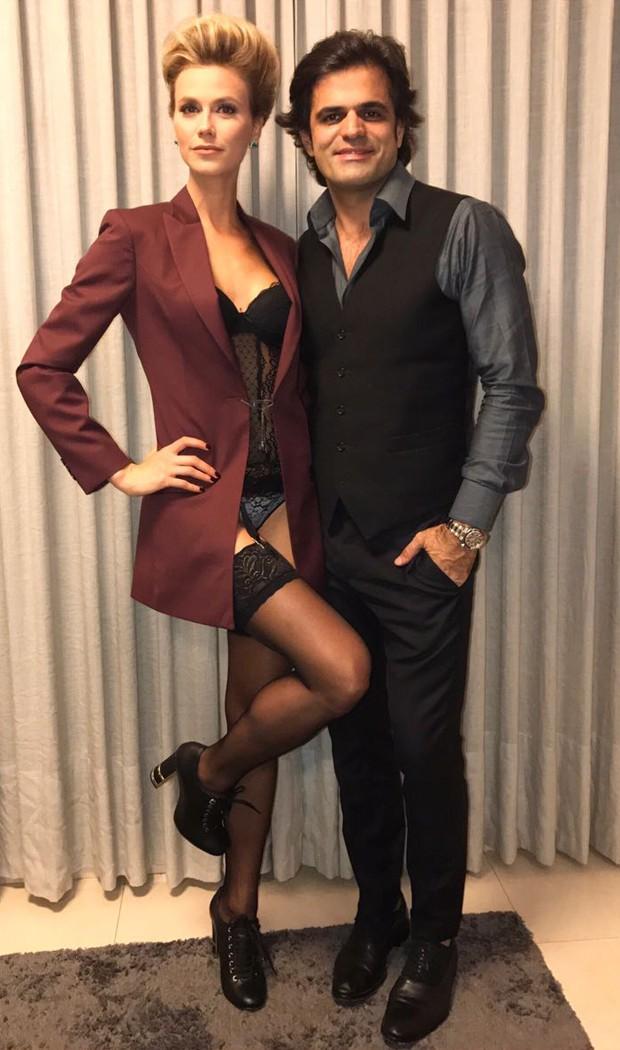 Renata Kuerten e o alfaiate João Camargo (Foto: Reprodução/Instagram)