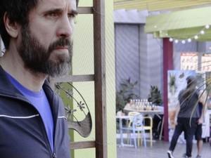Mestre fica bolado com a cena (Foto: Globo)