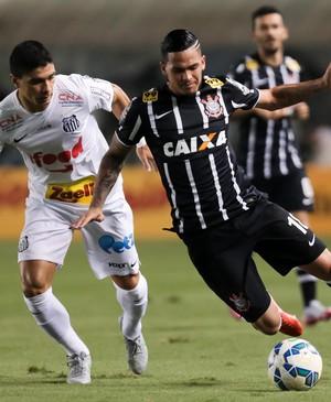 Santos x Corinthians - Luciano (Foto: RODRIGO GAZZANEL - Agência Estado)