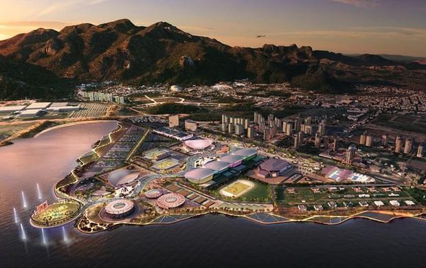 Projeto vencedor do Parque Olímpico Rio 2016 (Foto: Divulgação)