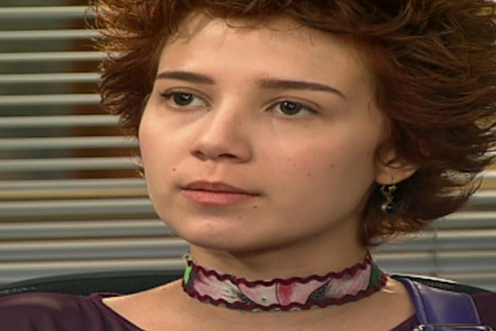 Natasha d depoimento bombstico no julgamento de Cadu (Foto: reproduo/viva)
