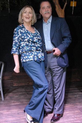 Tony Ramos e Irene Ravache interpretam Otávio e Charlô (Foto: Divulgação/TV Globo)
