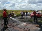 Moradores protestam por instalação de lombada em rodovia da Paraíba