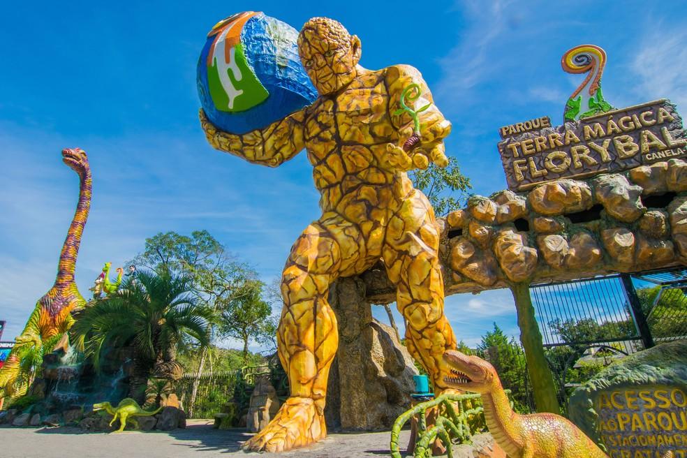 Terra Mágica Florybal mistura temáticas em parque destinado a crianças e adultos (Foto: Divulgação)
