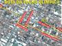 Patrocínio divulga percurso de 2 km da Tocha Olímpica pelas ruas da cidade