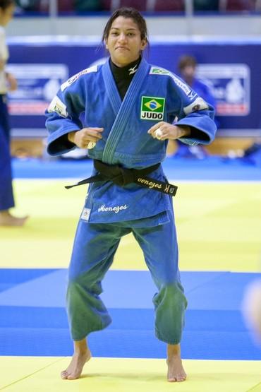 sarah menezes treino para o mundial da russia (Foto: Rafal Burza/CBJ)