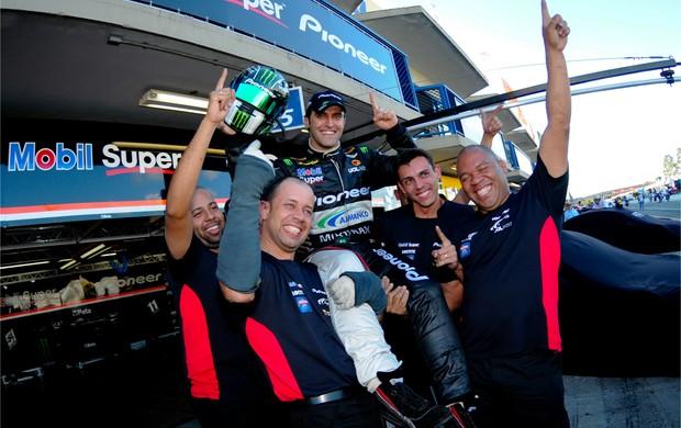 Átila Abreu pole Stock Car Curitiba (Foto: Duda Bairros / Stock Car)