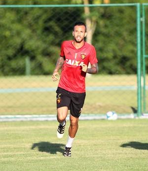 Leandro Pereira Sport (Foto: Marlon Costa/Pernambuco Press)