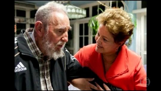 Relação entre Brasil e Cuba foi do rompimento a uma amizade próxima