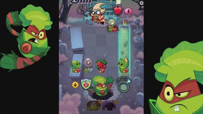 plants vs zombies heroes leva cartas colecionáveis ao android e