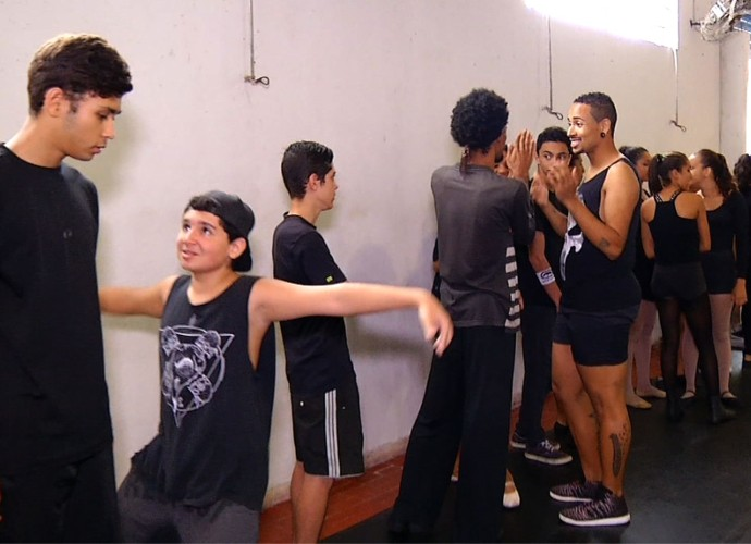 'Plugue' conferiu as apresentações que valeram vagas para um musical (Foto: Plugue)