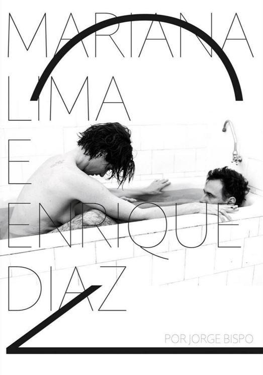 Mariana Lima e Enrique Diaz (Foto: Instagram / Reprodução)