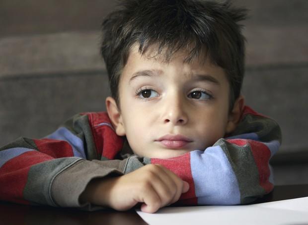 Tristeza: as crianças também precisam dela (Foto: Thinkstock)
