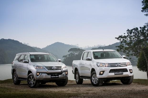 Toyota apresenta Hilux e SW4 com motor flex no Brasil (Foto: Divulgação)
