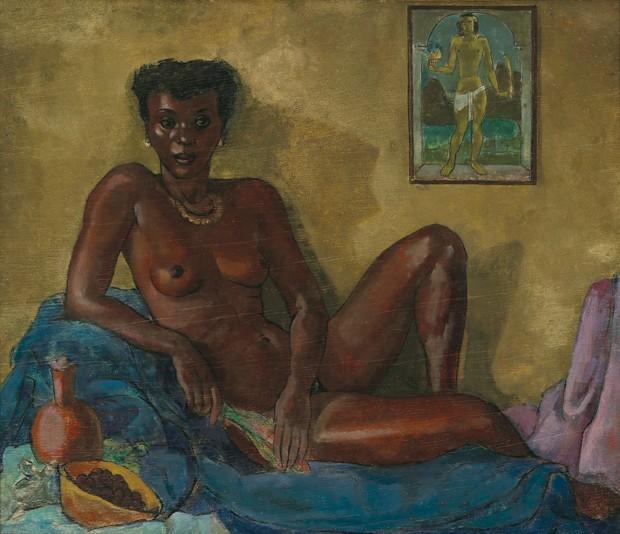 Nu feminino (Mulata e São Sebastião) (Foto: Divulgação)