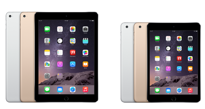 Le Lançou O Ipad Air 2 E Mini 3 Com Sensor Touch Id Mais