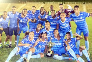 Macaé campeão da Copa Eureka (Foto: Tiago Ferreira)