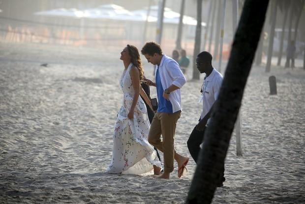 Camila Pitanga e Thiago Fragoso (Foto: AgNews / AgNews)