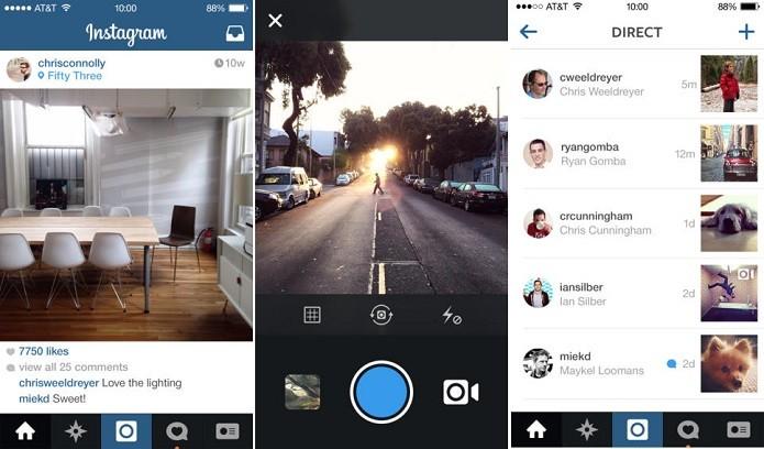 Instagram para iOS ganhou update (Foto: Divulgação/Instagram)